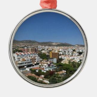 Costa Del Sol Metal Ornament