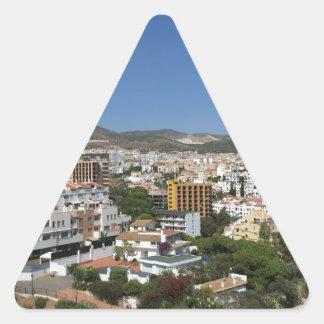 Costa Del Sol Triangle Sticker