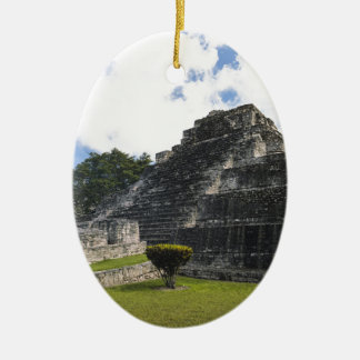 Costa Maya Chacchoben Mayan Ruins Ceramic Ornament