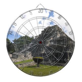 Costa Maya Chacchoben Mayan Ruins Dartboard