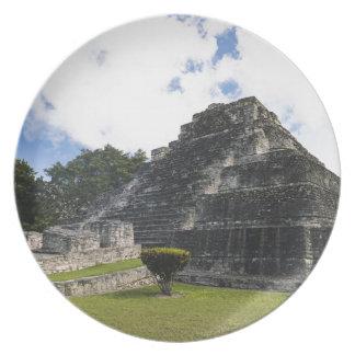 Costa Maya Chacchoben Mayan Ruins Plate