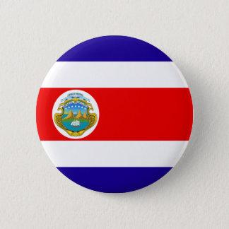 Costa Rica 6 Cm Round Badge