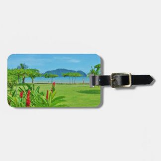 Costa Rica beach outdoor Luggage Tag