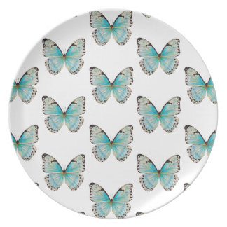 Costa Rica Butterfly Medium Pattern Melamine Plate
