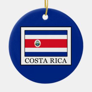Costa Rica Ceramic Ornament