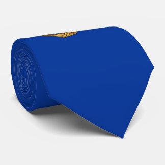 Costa Rica Coat of Arms Tie