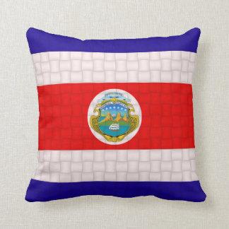 Costa Rica Cost Rican Flag Cushion