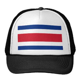 Costa Rica, Costa Rica flag Mesh Hats
