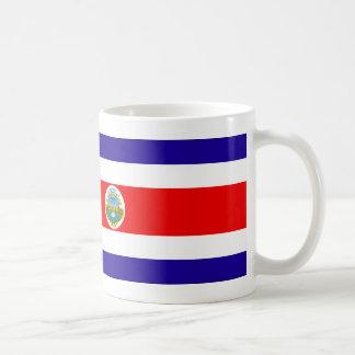 Costa Rica Flag Basic White Mug