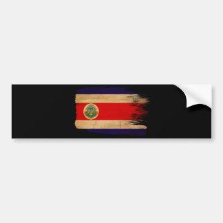 Costa Rica Flag Bumper Sticker