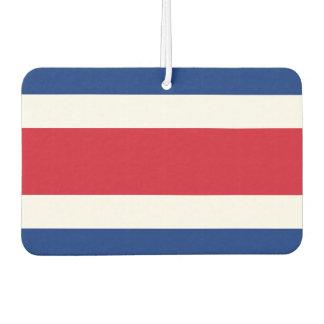 Costa Rica Flag Car Air Freshener