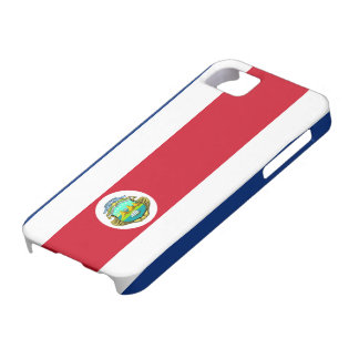 Costa Rica Flag iPhone 5 Case