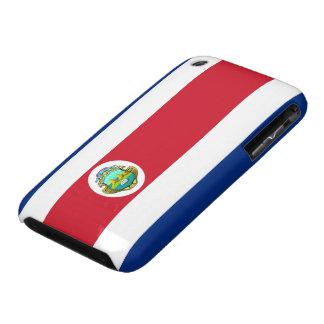 Costa Rica Flag iPhone 3 Case