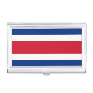 Costa Rica Flag Case For Business Cards