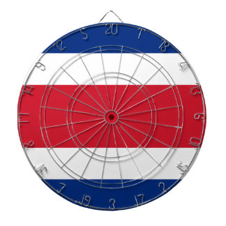 Costa Rica Flag Dart Boards