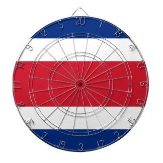 Costa Rica Flag Dartboard