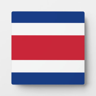 Costa Rica Flag Display Plaques