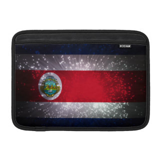 Costa Rica Flag Firework MacBook Air Sleeve