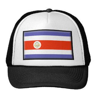 Costa Rica Flag Trucker Hats