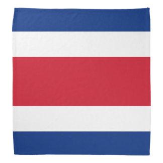 Costa Rica Flag Head Kerchiefs