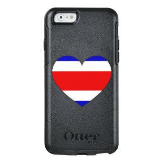 Costa Rica Flag Heart OtterBox iPhone 6/6s Case