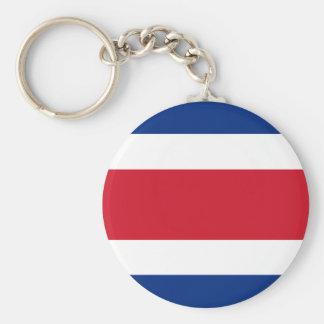 Costa Rica Flag Key Ring
