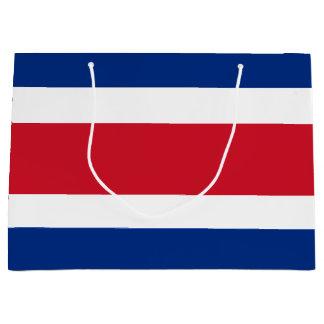 Costa Rica Flag Large Gift Bag