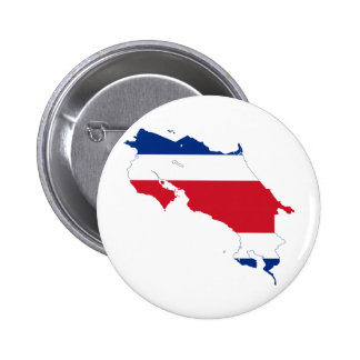 Costa Rica Flag map CR Buttons