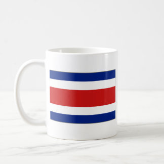 Costa Rica Flag ~ Map Mug