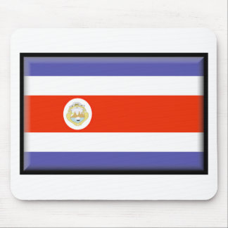Costa Rica Flag Mouse Pads