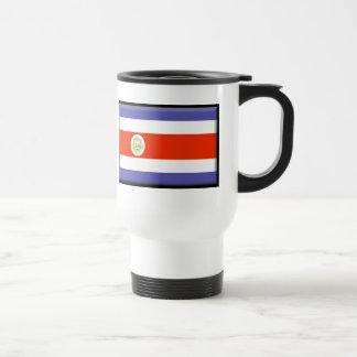 Costa Rica Flag 15 Oz Stainless Steel Travel Mug