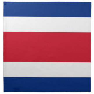Costa Rica Flag Napkin