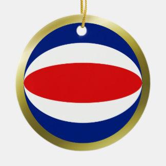 Costa Rica Flag Ornament