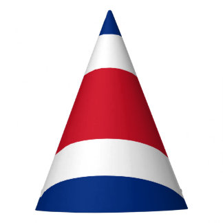 Costa Rica Flag Party Hat