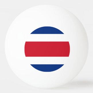 Costa Rica Flag Ping Pong Ball