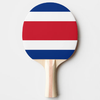 Costa Rica Flag Ping Pong Paddle