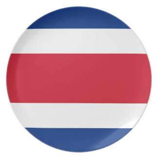 Costa Rica Flag Plate