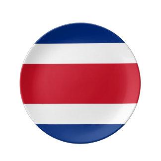 Costa Rica Flag Plate