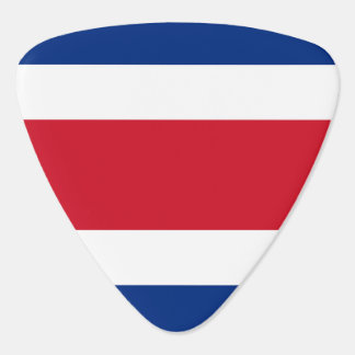 Costa Rica Flag Plectrum