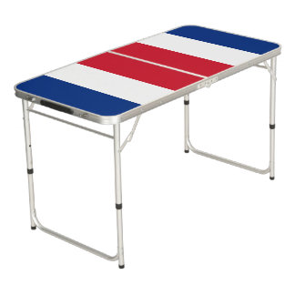 Costa Rica Flag Pong Table