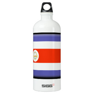 Costa Rica Flag SIGG Traveller 1.0L Water Bottle