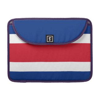 Costa Rica Flag Sleeve For MacBooks