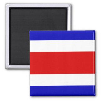 Costa Rica flag Square Magnet
