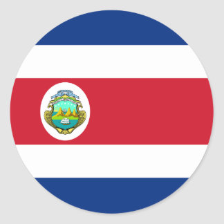 Costa Rica Flag Sticker