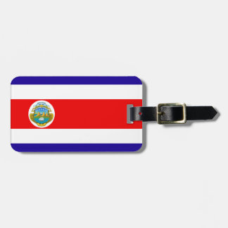 Costa Rica flag Tag For Bags