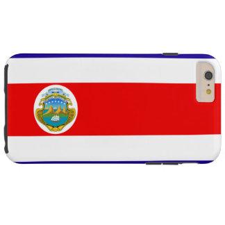 Costa Rica flag Tough iPhone 6 Plus Case