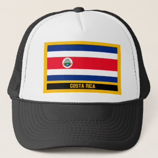 Costa Rica Flag Trucker Hat