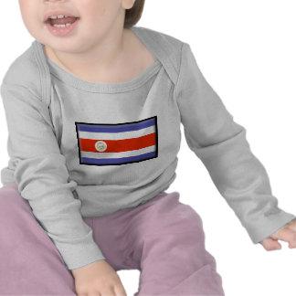 Costa Rica Flag T Shirts
