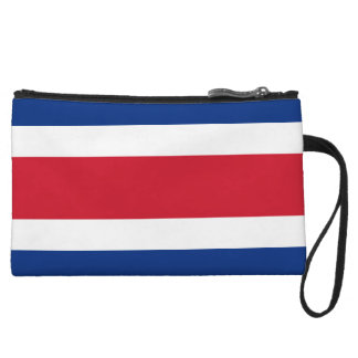 Costa Rica Flag Wristlets Wallet