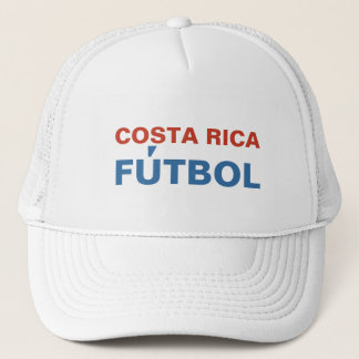 COSTA RICA FUTBOL TRUCKER HAT